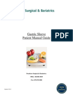 Gastric Sleeve Patient Manual