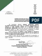 Ordinul Mj 1759_C_2013 Aprobare Regulament de Aplicare a Lege 36