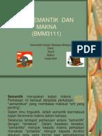 Semantik Dalam Bahasa Melayu