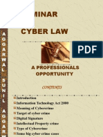 Cyber Law a Professional Oppourtunity