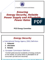 PCCI Energy Committee - TWG on Power