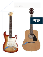 Quiz Identifying the Parts of the Guitar