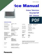 Panasonic TX-21at1p Chassis Z-8t