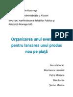 Organizarea Unui Eveniment Pentru Lansarea Unui Produs (1)