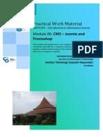 Modul Penggunaan CMS (Joomla, Wordpress, dll)