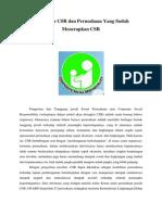 Pengertian CSR Dan Perusahaan Yang Sudah Menerapkan CSR