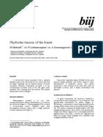Tumor Phyloides Jurnal