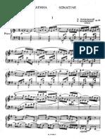 Myaskovsky Op.57 Sonatina