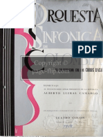 Partitura Luis Miguel de Zulategui