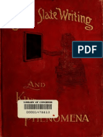 Spirit Slate Writing and Kindred Phenomena (1898)