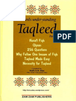 Taqleed Part1 Complete ACompilationOfBookletsOnTheSubjectOfTaqleed