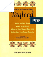 Taqleed Part2 Incomplete ACompilationOfBookletsOnTheSubjectOfTaqleed
