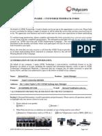 Polycom Survey Form