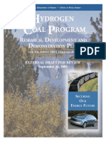 Hydrogen From Coal RDD Program Plan Sept