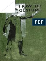 How to Gesture (1902)
