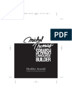 3 Michel Thomas Spanish Language Builder