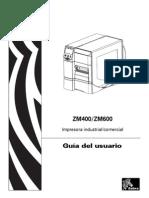 Manual ZM400 y ZM600