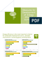 Measures for Development of Energy Efficient Buildings