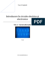 Introducere in Circuite Electrice Si Electronice - Curent Alternativ