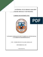 Analisis Comparativo de Un Edificio Convencional y Uno Sismorresistente