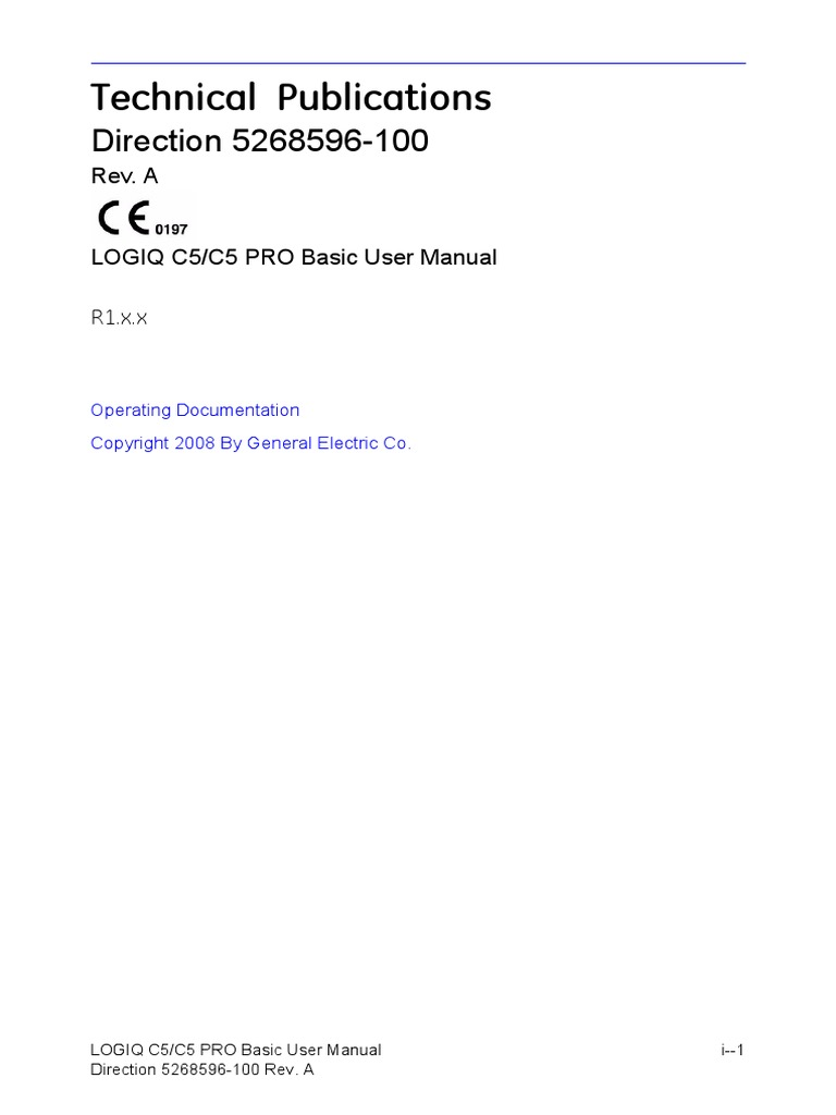 LC5C5PRO_BUM_5268596-100_Rev_A.book | International Electrotechnical  Commission | Medical Ultrasound