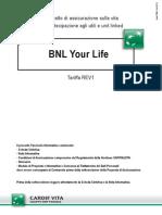 BNL Your Life Fascicolo-Informativo