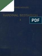 Μohler, Kardinal Bessarion