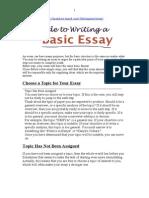 ESSEY Writing