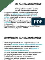 Commercial Bank Managemnt