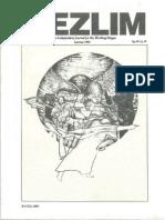 [Vol.1,No.3] Mezlim - Lammas 1990