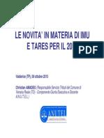 Slide IMU e TARES - Dott. Christian Amadeo