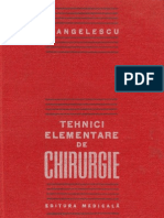 Angelescu_Tehnici Element Are de Chirurgie
