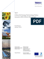 A New EU Energy Technology Policy Towards 2050