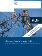 Germanys New Energy Policy
