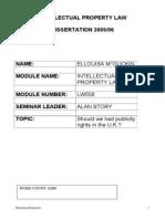 Dissertation- Sample 2