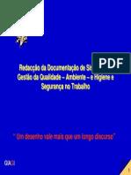 Redação da Documentação de Sistemas de Gestão