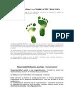Responsabilidad Social,Ecologia y Conservacion