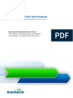 How to Create Killer Sales Playbooks Guide