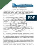 Questões Atos Administrativos - FD