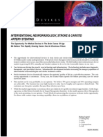 Interventional Neuroradiology, Stroke & Carotid Artery Stenting