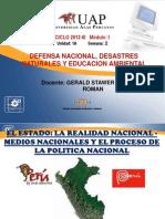 2A SEMANADefensa Nacional, Conceptos Generales y Actividades