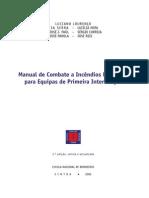 Manual Combate Incêndios Florestais para EPI
