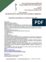 Buenas Prc3a1cticas Educativas Experienciasabril2013