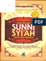 Siapa Bilang Sunni Syiah Tidak Bisa Bersatu