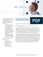 System Center 2012 R2 Datasheet