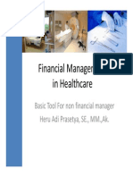 Financial Management in Healthcare