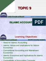 Topic 9 - Islamic Accounting