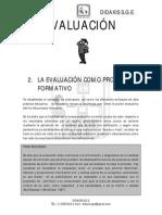 Modulo Evaluacion Como Proceso Formativo