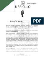Modulo Funcion Social Curriculo