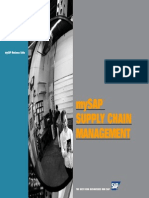 My Sap Supply Chain Management